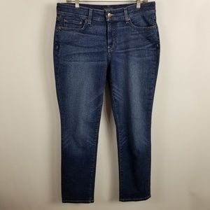 Not Your Daughter Jeans Boyfriend Dark Wash 8